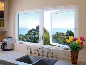 Cornerstone Windows and Patio Doors - kitchen window with wonderful view