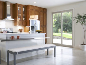Cornerstone Windows and Patio Doors - patio door off kitchen