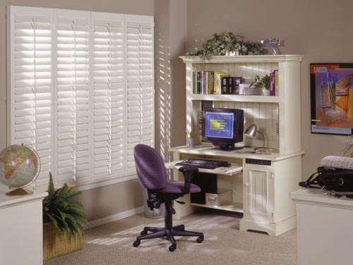 Cornerstone Windows - beautiful home custom office shutters