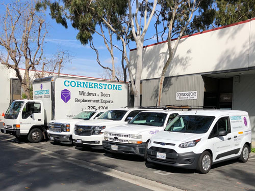 Cornerstone Windows Patio Doors - 3545 Lomita Blvd Unit A, Torrance, CA 90505 - Truck Fleet